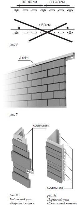 Монтаж панелей Альта-Профиль