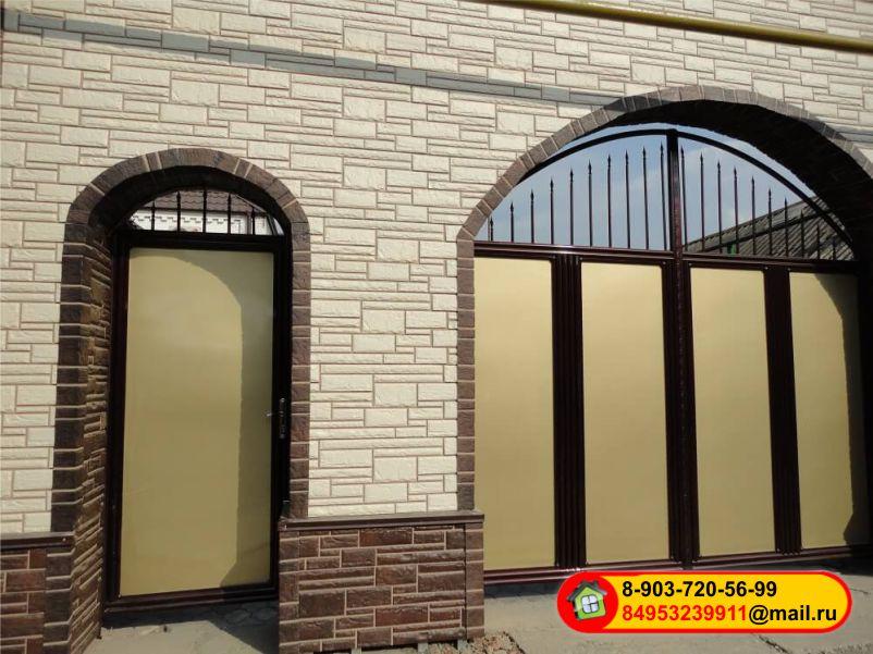 Широчайший выбор панелей для отделки фасада