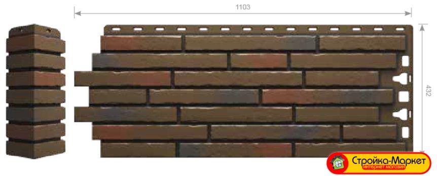 Новинка! Фасадные панели Деке, Docke-R — Klinker