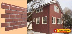 Фасадные панели Деке Docke-R, Berg (кирпич)